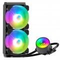 Tản Nhiệt Nước All in One Coolmoon ICEMOON 240 RGB - Tự Động Đổi Màu / Đồng Bộ Hub Coolmoon / Mainboard