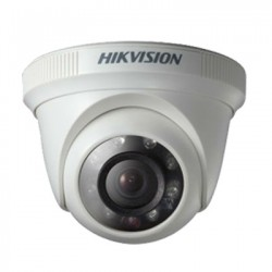 CAMERA HDTVI HIKVISION HIK-56C6T-IR (DOME 1MP)