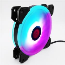 Quạt Tản Nhiệt, Fan Case Coolmoon V3 Led RGB Rainbow 16 Triệu Màu, 366 Hiệu Ứng