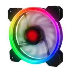 Quạt Tản Nhiệt, Fan Case Coolmoon V2 Led RGB Digital 16 Triệu Màu, 366 Hiệu Ứng - Combo Tùy Chọn