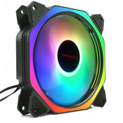 Fan Case Coolmoon Led RGB Symphony (Ver 8 Plus) - Led Ring Và Led Trong Fan