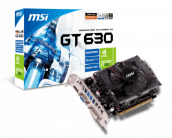VGA MSI N630-2GD3 (Geforce GT630/ 2Gb/ DDR3/ 128Bit)