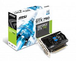 VGA MSI GTX750-2GD5