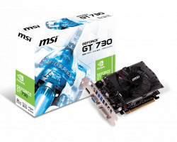 Card Màn Hình MSI GTX 730 2GB (Geforce GT730/ 2Gb/ DDR3/ 128Bit)