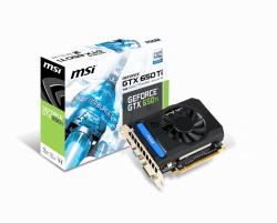 Card Màn Hình - VGA MSI GTX 650Ti 1GB DDR5