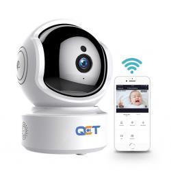 Camera Ip Không Dây QCT Xoay 360 Độ - Độ Phân Giải 2.0 Full HD 1080P