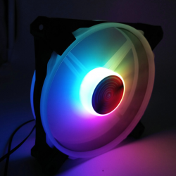 Quạt Tản Nhiệt, Fan Case Coolmoon Ver 5 Led RGB Rainbow