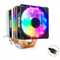 Tản Nhiệt Khí Snowman M-X6 Led RGB Dual Fan - Hỗ Trợ All CPU