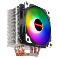 Tản Nhiệt Khí Coolmoon Frost X5 - Led RGB Tự Động Đổi Màu, Đồng Bộ Hub, Hỗ Trợ Sync Main