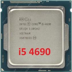 Bộ xử lý, CPU Intel® Core™ i5-4690 (6M bộ nhớ đệm, 3,90 GHz)