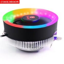 Fan Tản Nhiệt CPU Coolmoon Q2 Led RGB - Hỗ Trợ All CPU