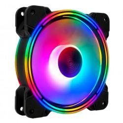 Quạt Tản Nhiệt, Fan Case Coolmoon M1.1 Led RGB - Không Cần Hub