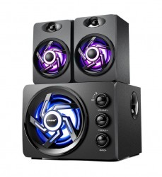Loa Vi Tính 2.1 SaDa D-209 Bass Siêu Trầm - Led RGB