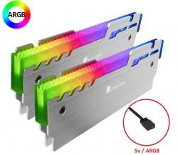 Bộ 2 Tản Nhiệt Ram Jonsbo NC-3 Led RGB - Hỗ Trợ Đồng Bộ Mainboard / Bộ Hub Coolmoon