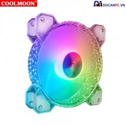 Quạt Tản Nhiệt, Fan Case Led RGB Coolmoon D1 - Đồng Bộ Hub Coolmoon
