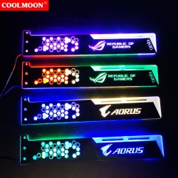 Giá Đỡ VGA Coolmoon Led RGB Độ Dài 28cm - Đồng Bộ Hub Coolmoon / Auto