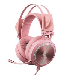 Tai nghe chơi game E-DRA EH412 Pro - Pink