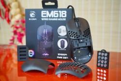Chuột Gaming E-DRA EM618 - Tùy Biến Trọng Lượng Và Nắp Lưng