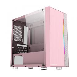 Vỏ Case Xigmatek Gemini Queen (Mini Tower/Màu Hồng)