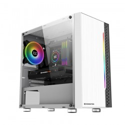 Vỏ Case Xigmatek Gemini ARCTIC RGB STRIP (Mini Tower/Màu Trắng)
