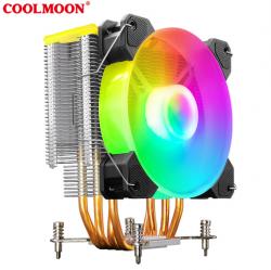 Tản Nhiệt Khí, Fan CPU Coolmoon X400 Led RGB - Auto / Đồng Bộ Hub Coolmoon / Mainboard