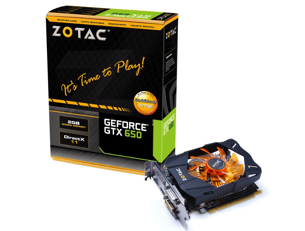 VGA Zotac GTX 650 1G/D5/128 bit