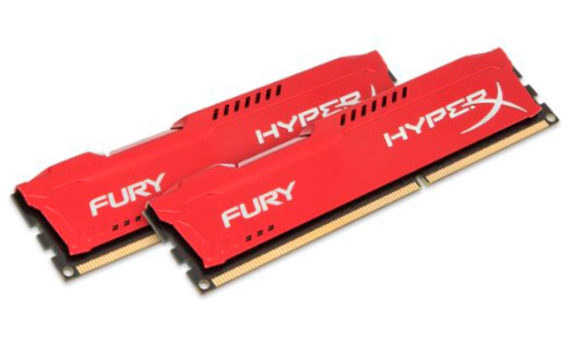 RAM Kingston HyperX Fury 8GB (1x8GB) DDR3 Bus 1600Mhz - Red